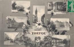 49 SOUVENIR DE TORFOU VUES MULTIPLES - Francia