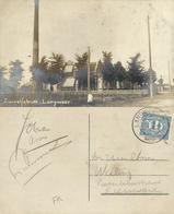 Nederland, LANGWEER, Zuivelfabriek Butter Factory, Dairy Zuivel (1920) Fotokaart - Autres