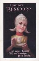 2540      2             Bensdorp Cacao, Pur, Exquis, Digestible 50% Plus économique Que Le Chocolat. (VOIR - Advertising