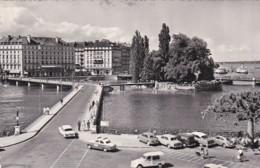 276750Genève, Pont Des Berques Et IIe Rousseau (voir Coins, Gauche Suo. Plis) - GE Genève