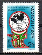 HONGRIE. N°2863 De 1983. Esperanto. - Esperanto