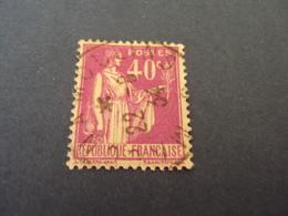 """1932-39   -  Oblitéré  N° 281    """" PAIX  ,  40c Parme  """"    Net     0.40   -   """"   Moulins       """"   Photo   5 - 1932-39 Paix"""