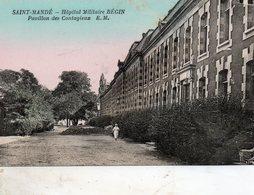 St - Mandé -   Hôpital  Militaire  Bégin -  Pavillon  Des  Contagieux. - Saint Mande