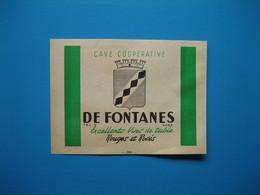 (1947) Cave Coopérative De FONTANES (Gard) - Sin Clasificación