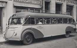 Ancien Autobus ISOBLOC  Du Brionnais  -  1956  -  15x10cm PHOTO - Bus & Autocars