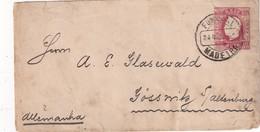 MADERE 1892       ENTIER POSTAL/GANZSACHE/POSTAL STATIONARY LETTRE DE FUNCHAL - Madeira