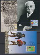 Liechtenstein 1994 Football World Cup USA  + Olympic Games + 275J Reichsfûrstentum 3v 3 Maxicards (47572) - Ungebraucht