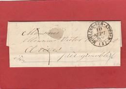 Allier - Moulins Sur Allier - CàD Type 13 - LAC De Septembre 1839 - 1801-1848: Precursors XIX