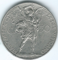 Vatican City - Pius XII - 1939 - 50 Centesimi - KM25 - Only 52,000 Minted - Vaticano