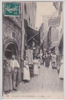 Le Mont-Saint-Michel - La Rue Au Mouton Blanc Boutique De Cartes Postales LL 132 - Le Mont Saint Michel