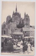 Le Mont-Saint-Michel - La Terrasse Veuve Poulard Et L'Abbaye LL 155 - Le Mont Saint Michel