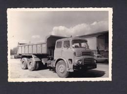 Photo Originale Vintage Automobile Truck Camion Benne Leyland Octopus  ( 41569) - Auto's