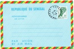 Aérogramme Sénégal - Dakar 1979 - Entier Ganzsache Stationery - Senegal (1960-...)