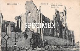 Puinen Der Kerk -  Lo-Reninge - Lo-Reninge