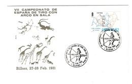 Tir A L'arc Archery Championnat D'espagne De Tir A L'arc En Salle Bilbao 1981 - Tir à L'Arc