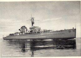 DC1563 - Panzerschiff Deutschland Trumpf Schokoladenfabriken Berlin - Warships