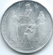 Vatican City - Paul VI - 1968 - 10 Lire - FAO - KM103 - Vaticano