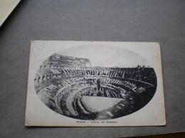 Roma Interno Del Colosseo 1924 - Colisée