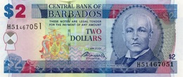 Barbados (CBB) 2 Dollars 2007 (2009) UNC Cat No. P-66b / BB225b - Barbados
