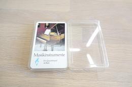 Speelkaarten - Kwartet, Muziek Instrumenten Musikinstrumente Music, Vintage,  *** - Cartes à Jouer Classiques