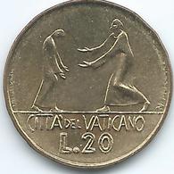Vatican City - Paul VI - 1978 - 20 Lire - KM135 - Vaticano