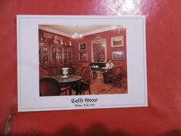 Roma - Caffé Greco - La Sala Rossacol Pittore Stellario Baccellieri - Cafés, Hôtels & Restaurants