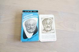 Speelkaarten - Kwartet, Bedeutende Persönlichkeiten  Significante Personen , Werberlag Neubauer  –, Vintage, 50's  *** - Cartes à Jouer Classiques