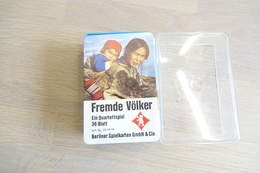 Speelkaarten - Kwartet, Vreemde Volkeren Quartett 101919, Berliner Spielkarten, *** - - Cartes à Jouer Classiques