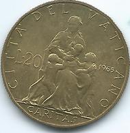 Vatican City - Paul VI - 1965 - 20 Lire - KM80.2 - Vaticano