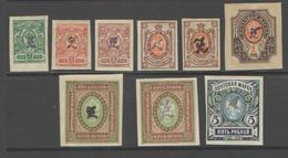 ARMENIA   1919-20  MNH**, MLH OG - Armenia