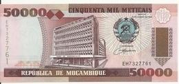 MOZAMBIQUE 50000 METICAIS 1993 UNC P 138 - Mozambique