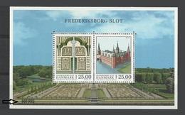Danemark Denmark Bloc Europa 2017 ** Architecture Chateau Castle Castello - Bloc Avec Numero M/S With Number - - 2017