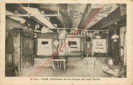 Intérieur De La Ferme Du Lac Pavin . - France
