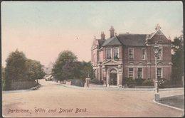 Wilts And Dorset Bank, Parkstone, Dorset, C.1905-10 - Frith's Postcard - Inglaterra