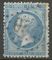 France - Napoleon III Et/ou Cérès - Oblitération Sur N°22 - GC 2720 OLLIOULES (Var) - 1849-1876: Klassik