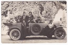 AUTOMOBILE NON IDENTIFICATA  - CAR - DONNE - FOTOGRAFIA ORIGINALE - Automobili