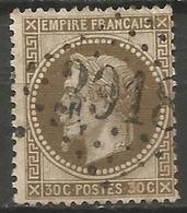 France - Napoleon III Et/ou Cérès - Oblitération Sur N°30 - GC 2918 POLIGNY (Jura) - Marcophilie (Timbres Détachés)