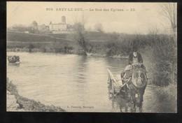 CPA Anzy Le Duc - Le Gué Des Eglises - Circulée - Sonstige Gemeinden