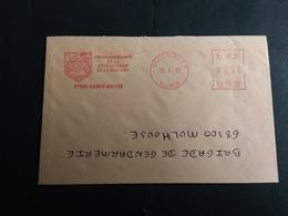 Enveloppe Ema Commandement Gendarmerie De La Réunion 23.01.2007. - Marcophilie (Lettres)