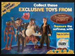 Disney Treasure Planet Carte Postale - Advertising