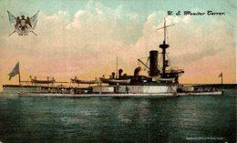 "U.S. Monitor ""Terror"".   Barcos Guerra//Battleship//Navires De Guerre. - Guerra"