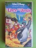 VHS - Cassette Vidéo - Le Livre De La Jungle - Les Grands Classiques - Walt Disney - Cartoni Animati