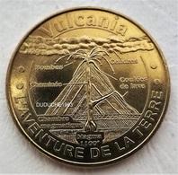 Monnaie De Paris 63.Saint Ours - Vulcania Aventure 2013 - 2013