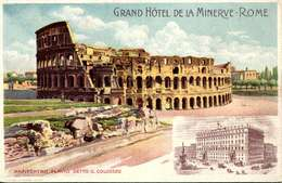 Grand Hotel De La Minerve Rome / TBE / LOT  4072 - Cafés, Hôtels & Restaurants