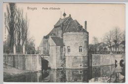 (65441) AK Bruges, Brügge, Porte D'Ostende, Vor 1945 - Brugge