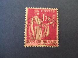 """1932-39   -  Oblitéré  N° 289   """" PAIX  ,  1.75 F Rose Lilas   """"  Net   0.40   """" Paris """"   Photo   3 - 1932-39 Paix"""