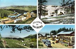 06 Valberg 4 Vues De 1964 Hôtel Les Mélèzes BUS Cars Autocars Anciens Traction Citroën VOIR DOS - Unclassified