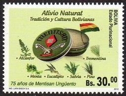 BOLIVIE BOLIVIA 1491 Préparation à Base De Plantes - Plantes Médicinales