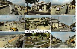 80 Fort Mahon 9 Vues Mini Golf Casino Ancienne Dyna Panhard Renault Dauphine Peugeot 203 403 Citroën 2CV - Fort Mahon