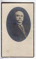 Doodsprentje Karel Jozef VAN ROOST °1863 Werchter Burgemeester Werchter +1927 Werchter // PAQUAY - Andachtsbilder